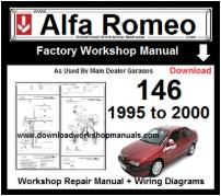 Alfa Romeo 146 Workshop Manual Download