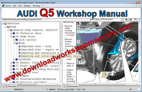 Audi Q5 Workshop Repair Manual