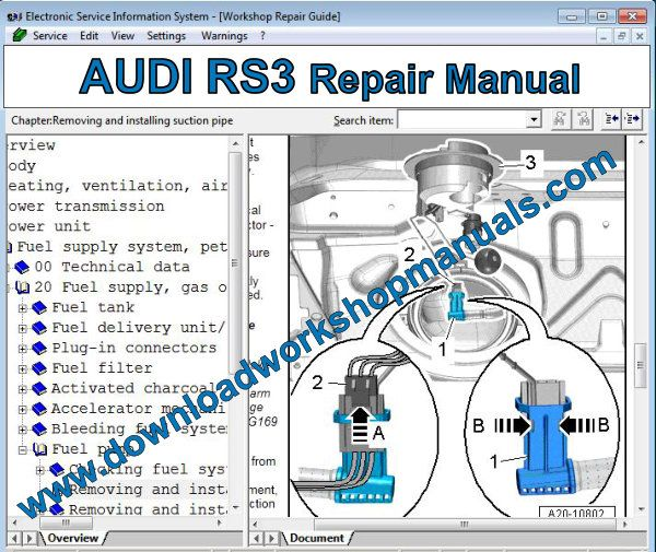 Audi Rs3 Workshop Repair Manual Manual Guide