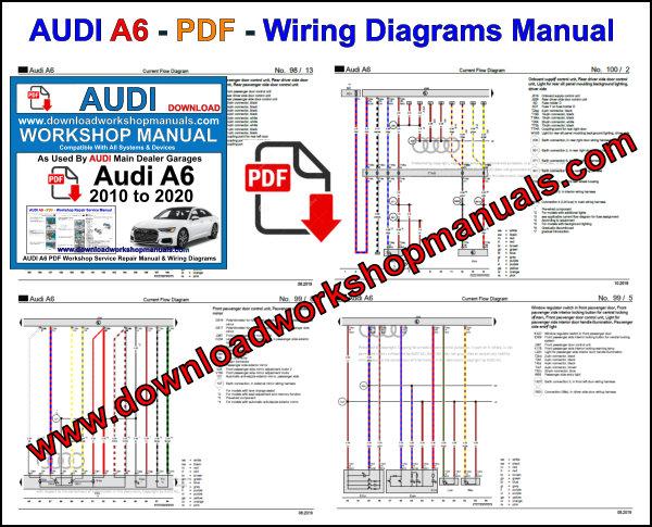Audi A6 2010 to 2020 Workshop Repair Manual PDF