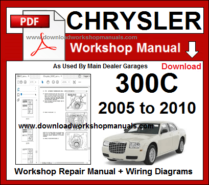 chrysler 300c workshop repair manual download
