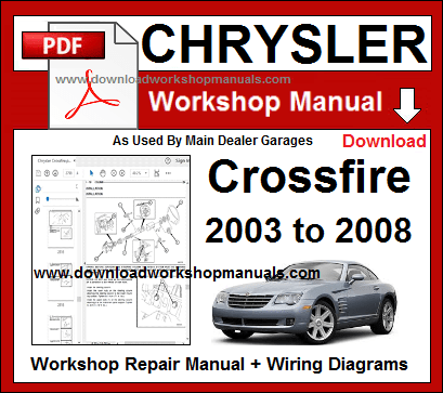 chrysler crossfire workshop repair manual