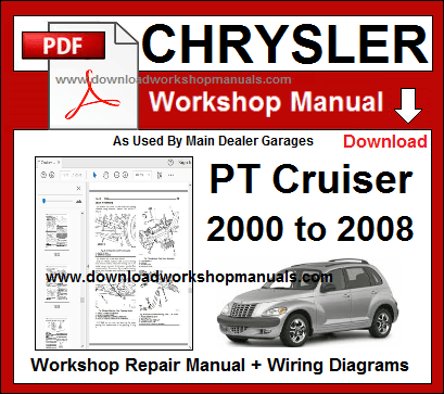 chrysler pt cruiser workshop repair manual
