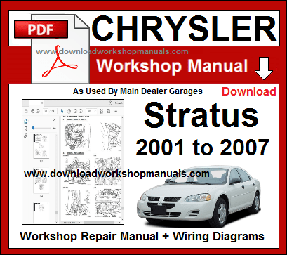 chrysler stratus workshop repair manual