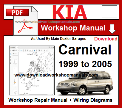 Kia Carnival Service Repair Workshop Manual Download