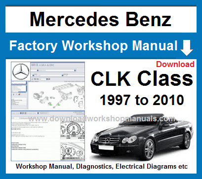 Mercedes CLK Class Service Repair Manual