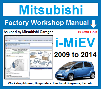 Mitsubishi i-MiEV Manual