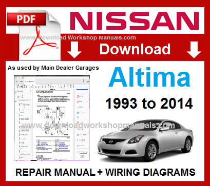 Nissan Altima Workshop Repair Manual