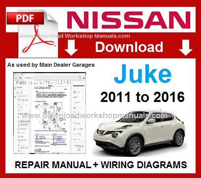 Nissan Juke Workshop Repair Manual