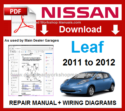 Nissan Leaf Workshop Repair Manual