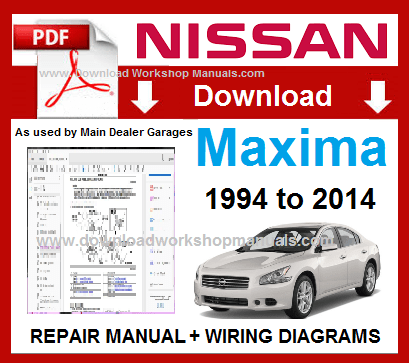 Nissan Maxima Workshop Repair Manual