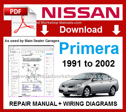 Nissan Primera Workshop Repair Manual