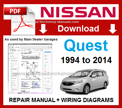 Nissan Quest Workshop Repair Manual