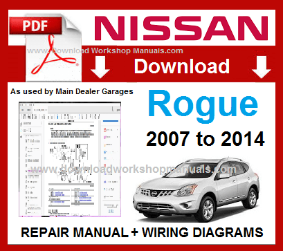 Nissan Rogue Workshop Repair Manual