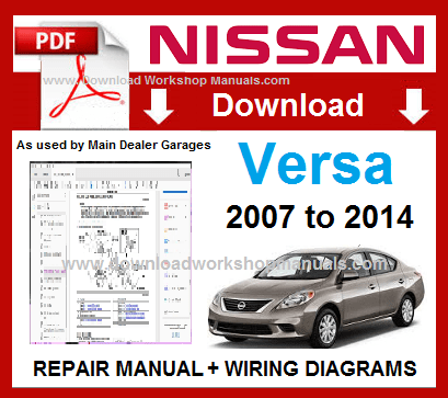 Nissan Versa Workshop Repair Manual