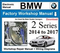 BMW 2 Series Workshop Service Repair Manual Download