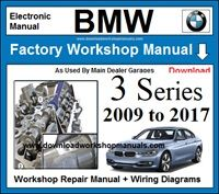 BMW 3 Series Workshop Service Repair Manual Download