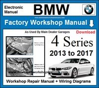 BMW 4 Series Workshop Service Repair Manual Download