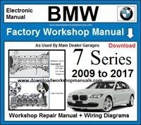 BMW 7 Series Workshop Service Repair Manual Download