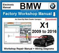BMW X1 repair manual