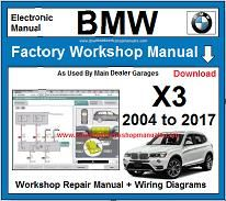 BMW X3 repair manual