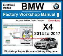 BMW X4 repair manual