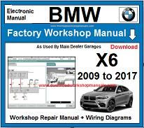 BMW X6 repair manual