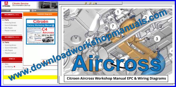 Citroen Aircross Workshop Repair Manual