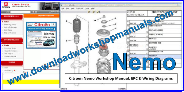 Citroen Nemo Workshop Repair Manual