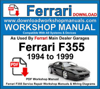 Ferrari F355 workshop repair manual download