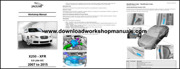 Jaguar Xf Xfr Workshop Manual Download