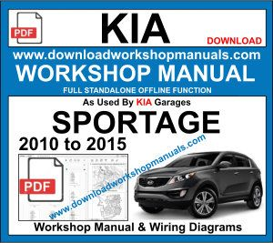 Kia Sportage Workshop Service Repair Manual Download