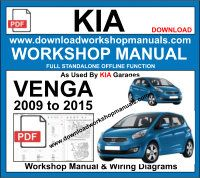 Kia Venga Service Repair Workshop Manual Download
