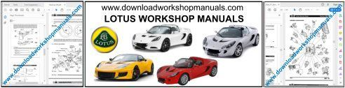 Lotus workshop repair manual download