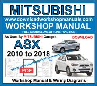 Mitsubishi ASX Workshop Manual