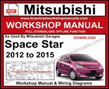 Mitsubishi Space Star Workshop Service Repair Manual