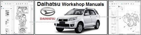 Daihatsu Service Repair Workshop Manuals