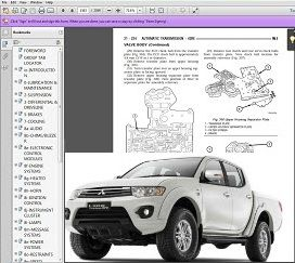 Mitsubishi L200 Workshop Manual download - DOWNLOAD WORKSHOP