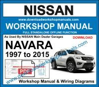 Nissan Navara Workshop Repair Manual
