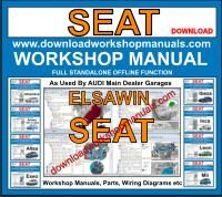 SEAT workshop service repair manual download
