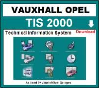 Vauxhall workshop service repair manual downloads