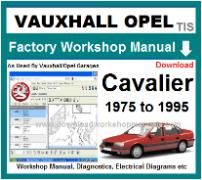 vauxhall cavalier Workshop Manual Download