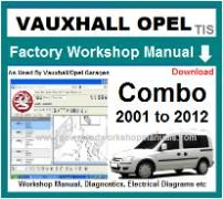 vauxhall combo Workshop Manual Download
