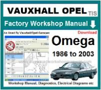 vauxhall omega Workshop Manual Download