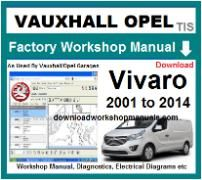 vauxhall vivaro Workshop Manual Download