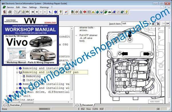 Vw Vivo Workshop Repair Manual