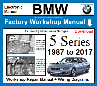 BMW 5 Series Workshop Service Repair Manual Download