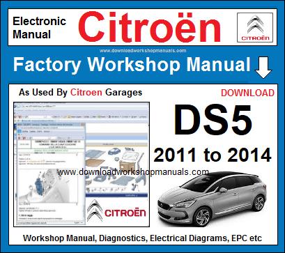 manual citroen ds5 pdf