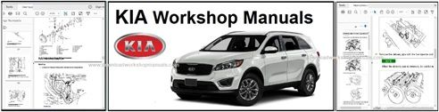 Kia Service Repair Workshop Manual Downloads