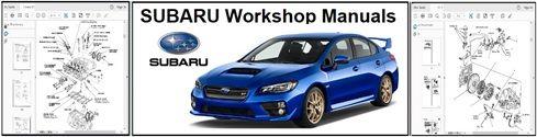 Subaru Workshop Repair Manuals